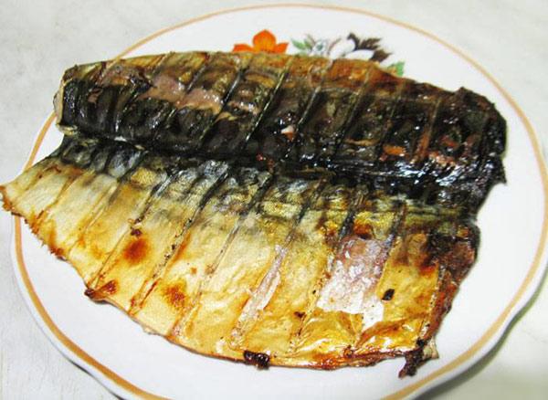 Шашлык из скумбрии – пошаговый рецепт с фото