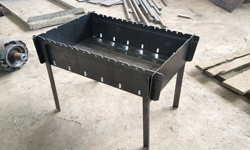 Пошаговая инструкция о том, как своими руками сделать мангал из металла
