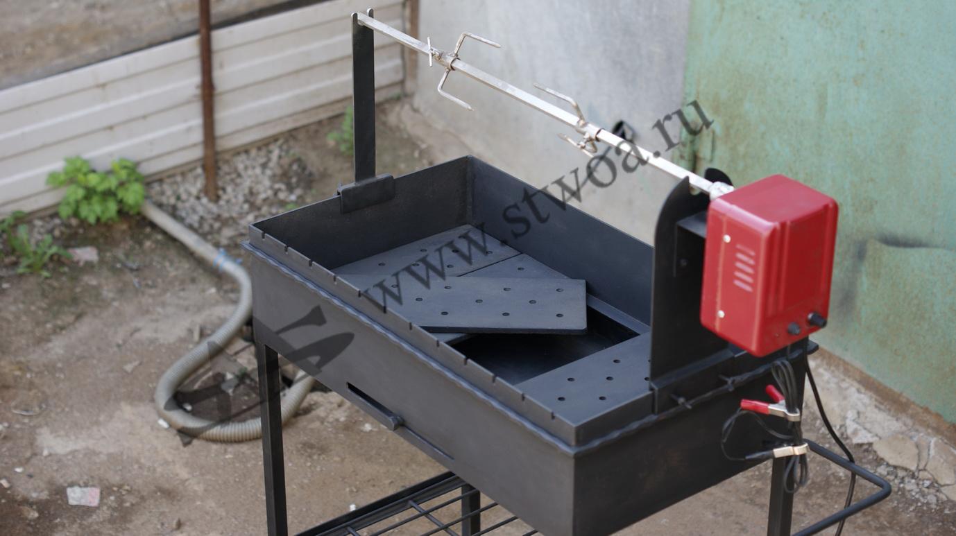 Вертел для мангала: как сделать своими руками, электрический, автоматический или ручной
