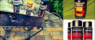 Как выбрать краску для мангала - жаростойкую и огнеупорную