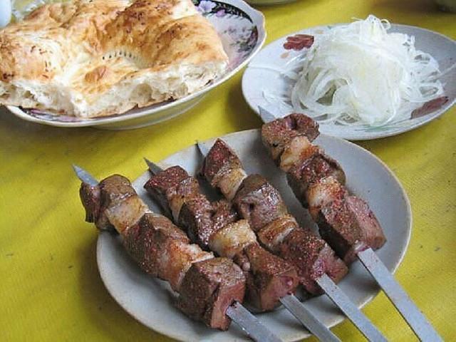 Узбекский шашлык (из баранины молотый из печени): рецепты