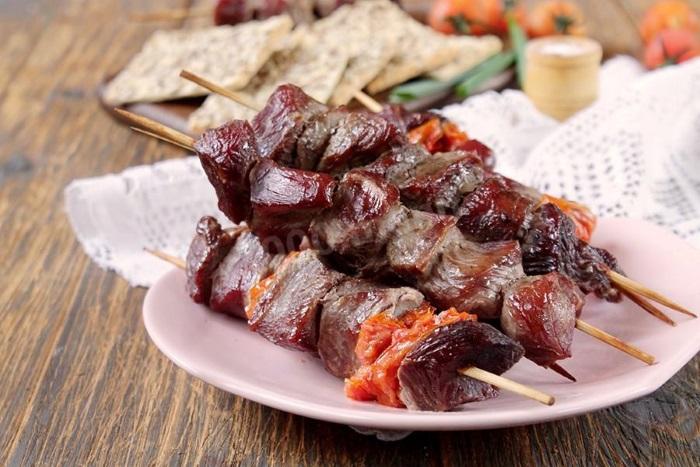 Шашлык из говядины — лучшие рецепты маринада и блюда на мангале