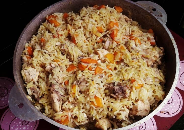 Узбекский плов в казане - пошаговый рецепт с фото