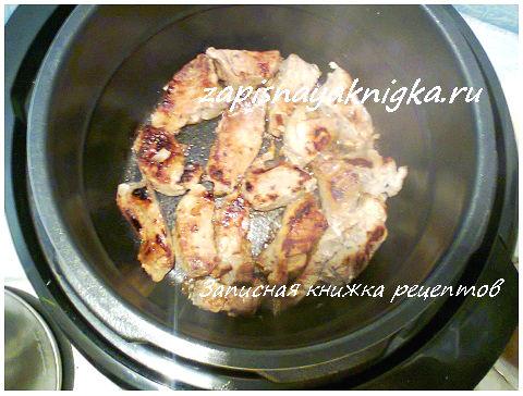 Шашлык из курицы в мультиварке: рецепт и фото