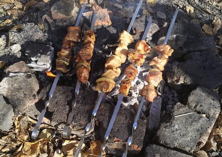 Шашлык из свинины с хреном | шашлык - про