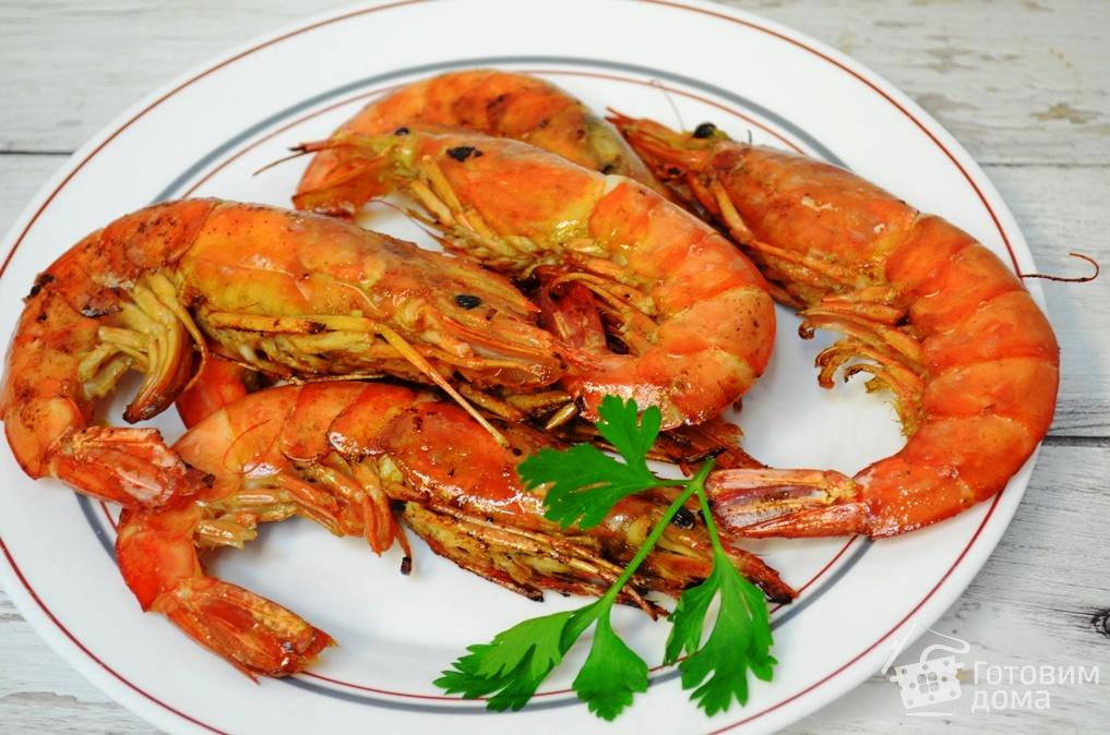 Креветки на гриле: варианты вкусного маринада рецепт с фото
