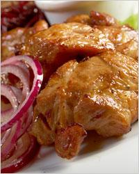 Шашлык из свинины в мультиварке