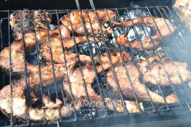 Шашлык из рыбы сазан: рецепт и фото