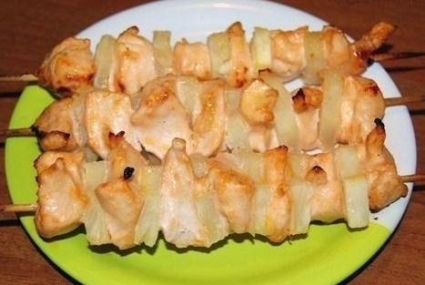 Курица с ананасом в духовке — самые вкусные рецепты