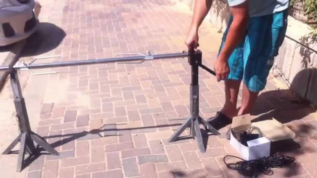 Как сделать электрошашлычницу для дома своими руками