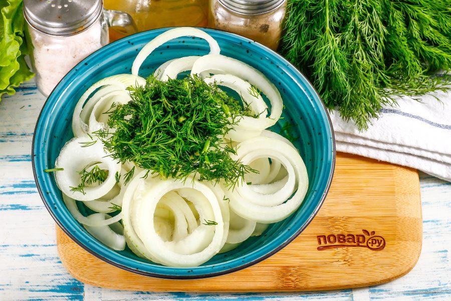 Как замариновать лук в уксусе быстро и вкусно