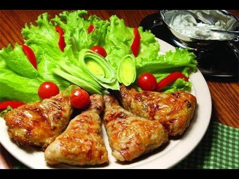 Как приготовить фаршированные куриные окорочка по рецепту с фото