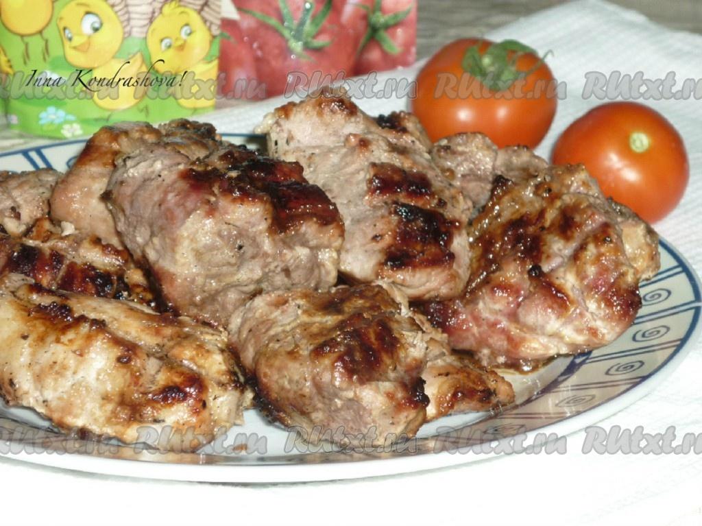 Рецепт шашлыка из свинины замаринованный в пиве