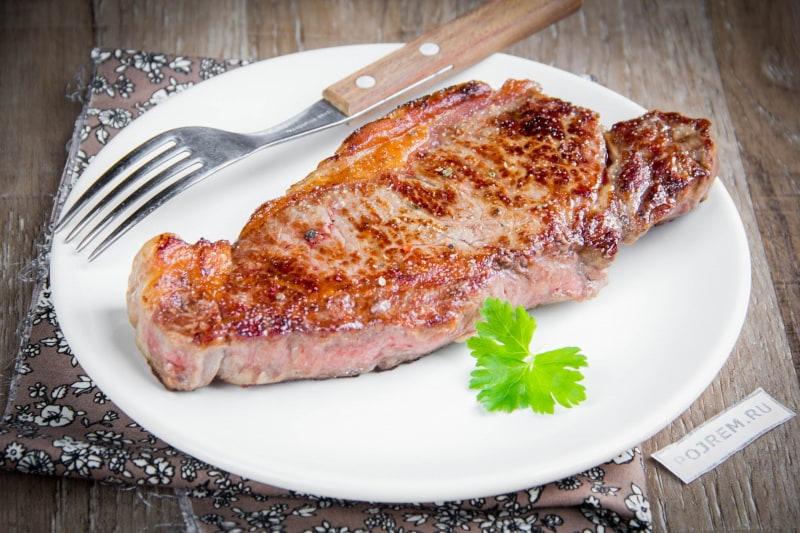Стейк из говядины в домашних условиях рецепт. как правильно жарить стейк: самое подробное руководство.