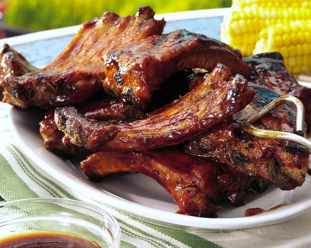 Шашлык на косточке из свинины рецепт фото