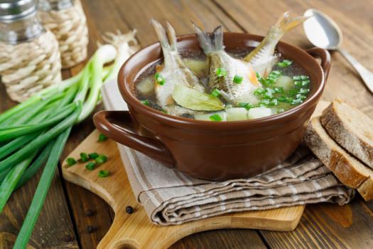 Уха на костре: самые аппетитные рецепты