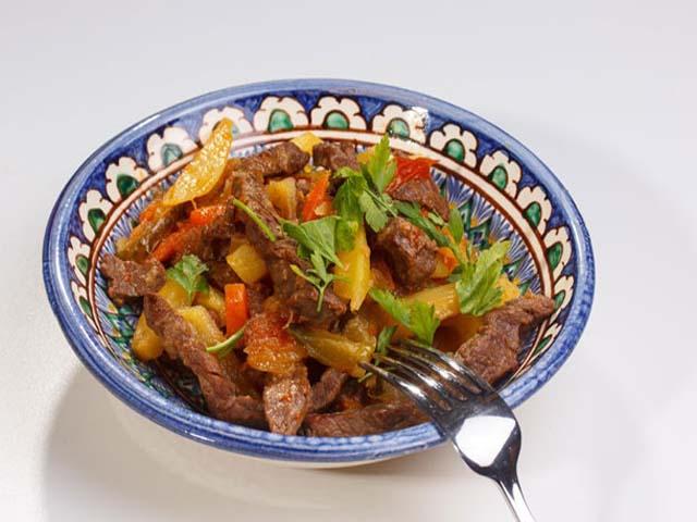 Азу по татарски из говядины