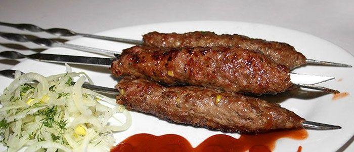 Вкусные люля кебаб из говядины