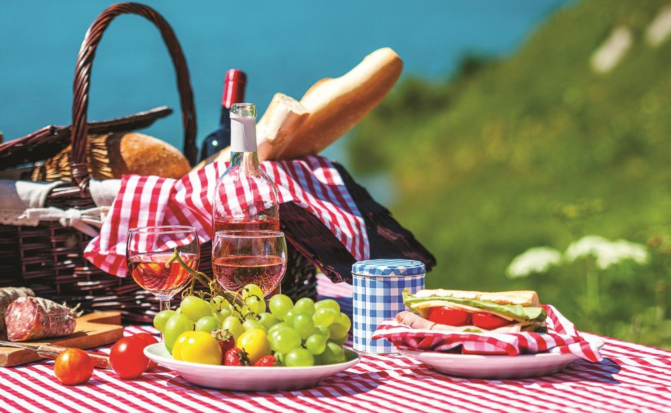 Что взять на романтический пикник