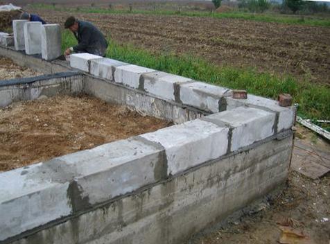 Как сделать мангал из блоков