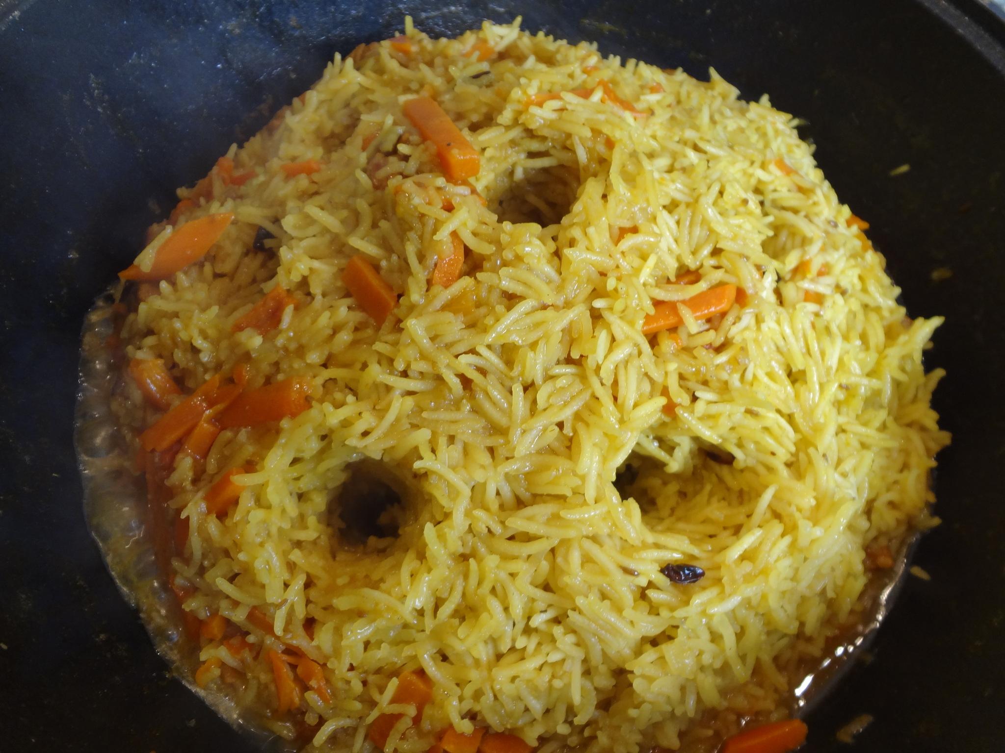 Рис для плова - рассыпчатый узбекский плов