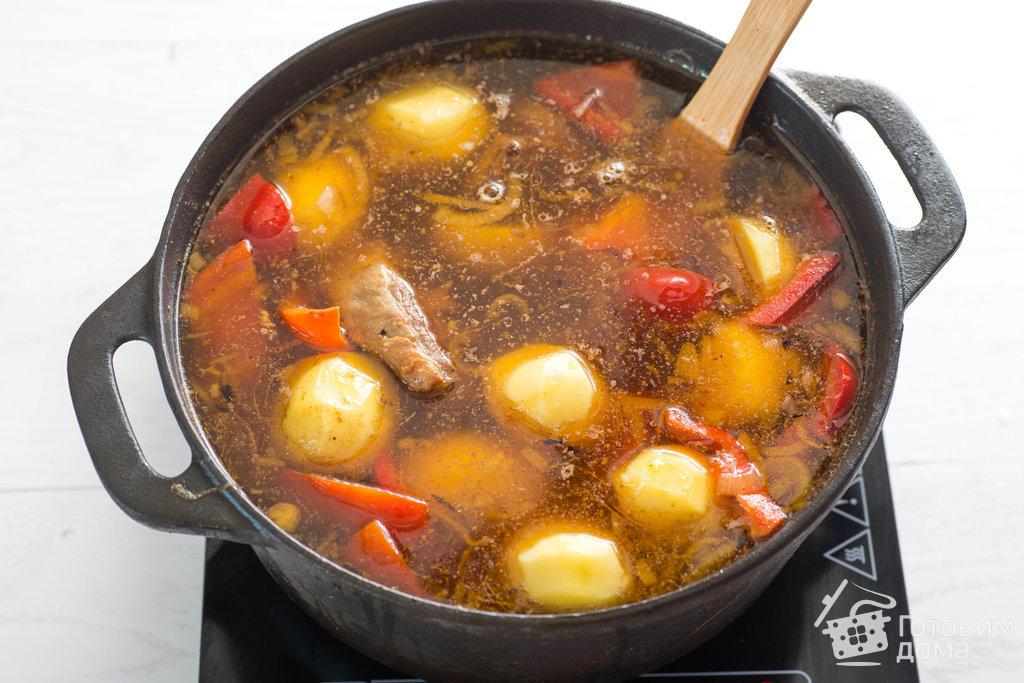 Вкусная шурпа на костре в казане из баранины: пошаговые рецепты для пикника