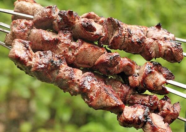 Шашлык из свинины с аджикой | кулинарный портал, вкусные рецепты