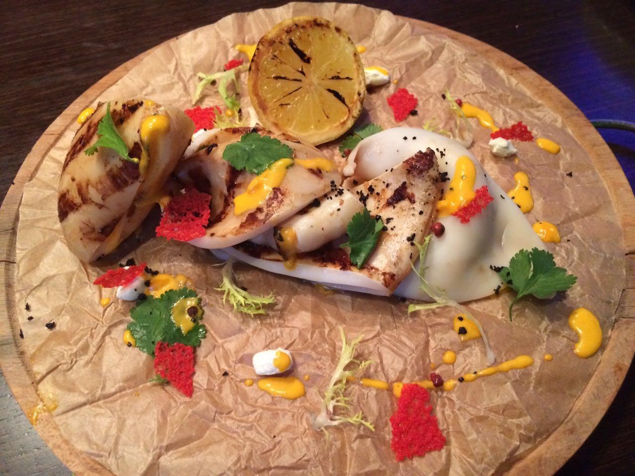 Очень быстрый рецепт вкуснейших кальмаров на гриле