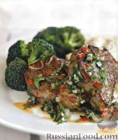 Баранина запечённая. рецепт запеченной баранины в духовке.