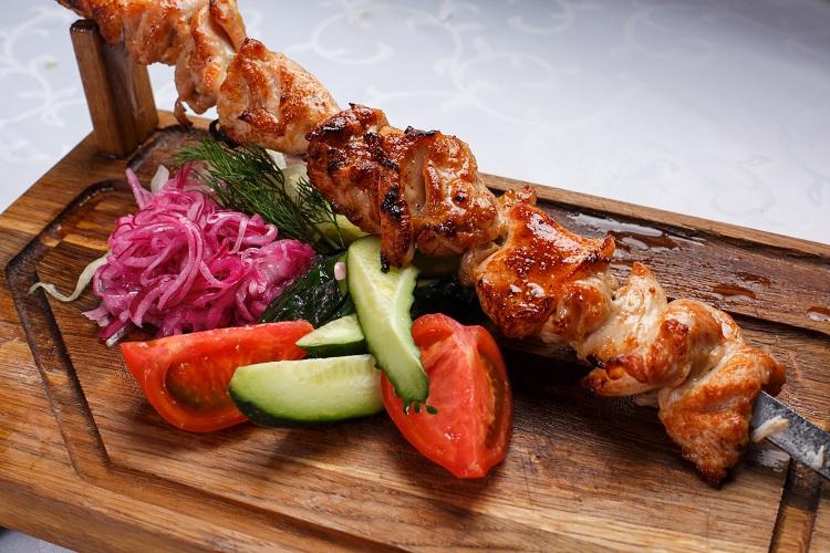 Мясо по-грузински