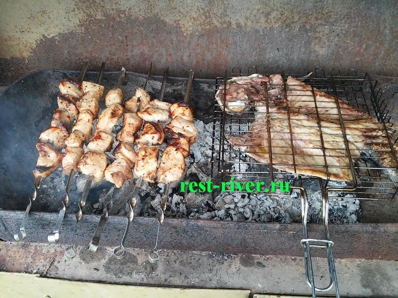 Шашлык из карпа на мангале на шампурах. шашлык из рыбы: рецепты вкусного маринада