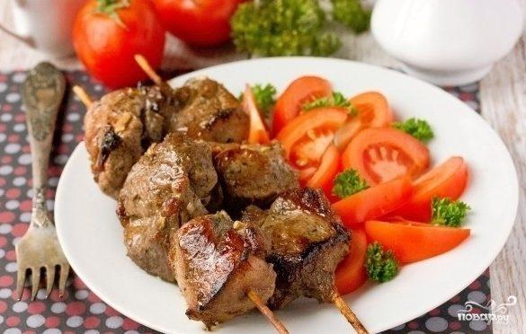 Сочный шашлык из свинины в духовке на шпажках – лучшие рецепты в домашних условиях