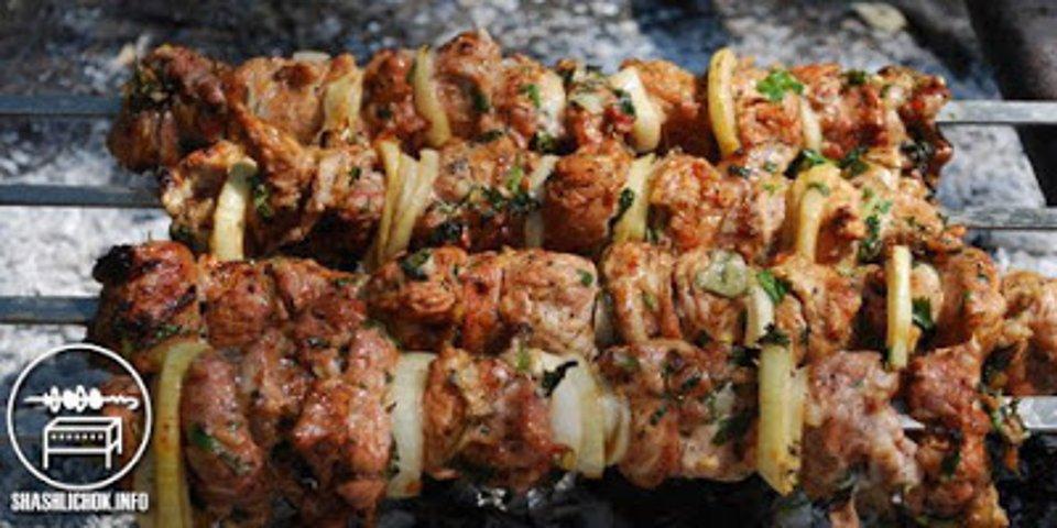 Топ-10 рецептов вкусного шашлыка из свинины для пикника