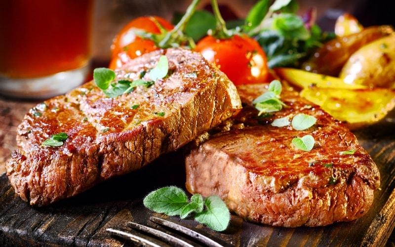 Блюда из мяса на сковороде: 2273 домашних вкусных рецепта