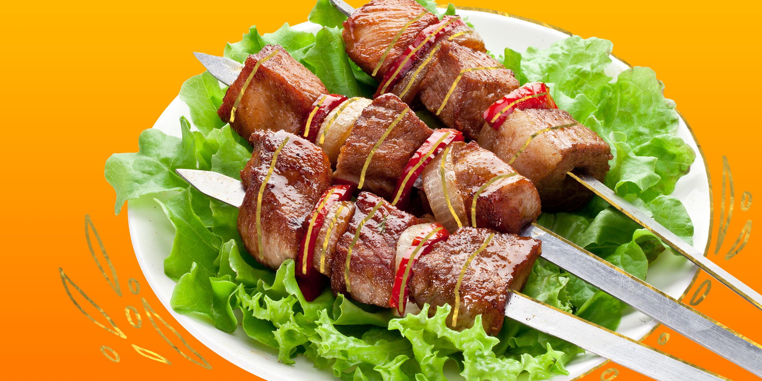 Шашлык из говядины. самый вкусный маринад чтобы мясо было мягким и сочным