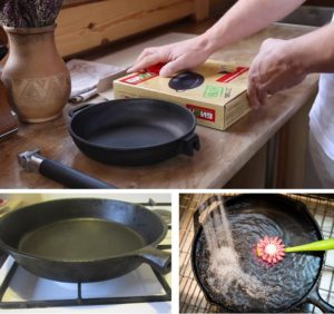 Как правильно прокалить новую чугунную сковороду
