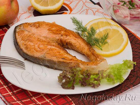 Стейк из лосося – топ 5 рецептов