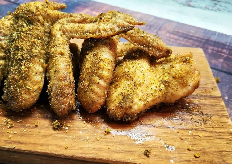 Куриные крылышки в духовке - 40 домашних вкусных рецептов
