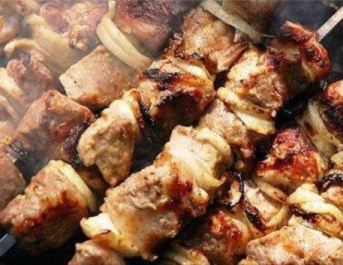 Грудинка свиная на мангале рецепт с фото
