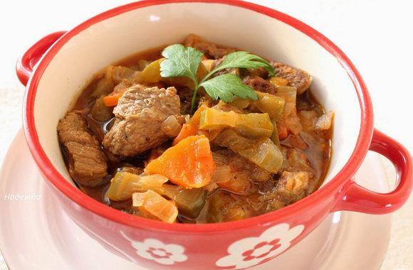 Вкусное азу по-татарски от ларисунчика