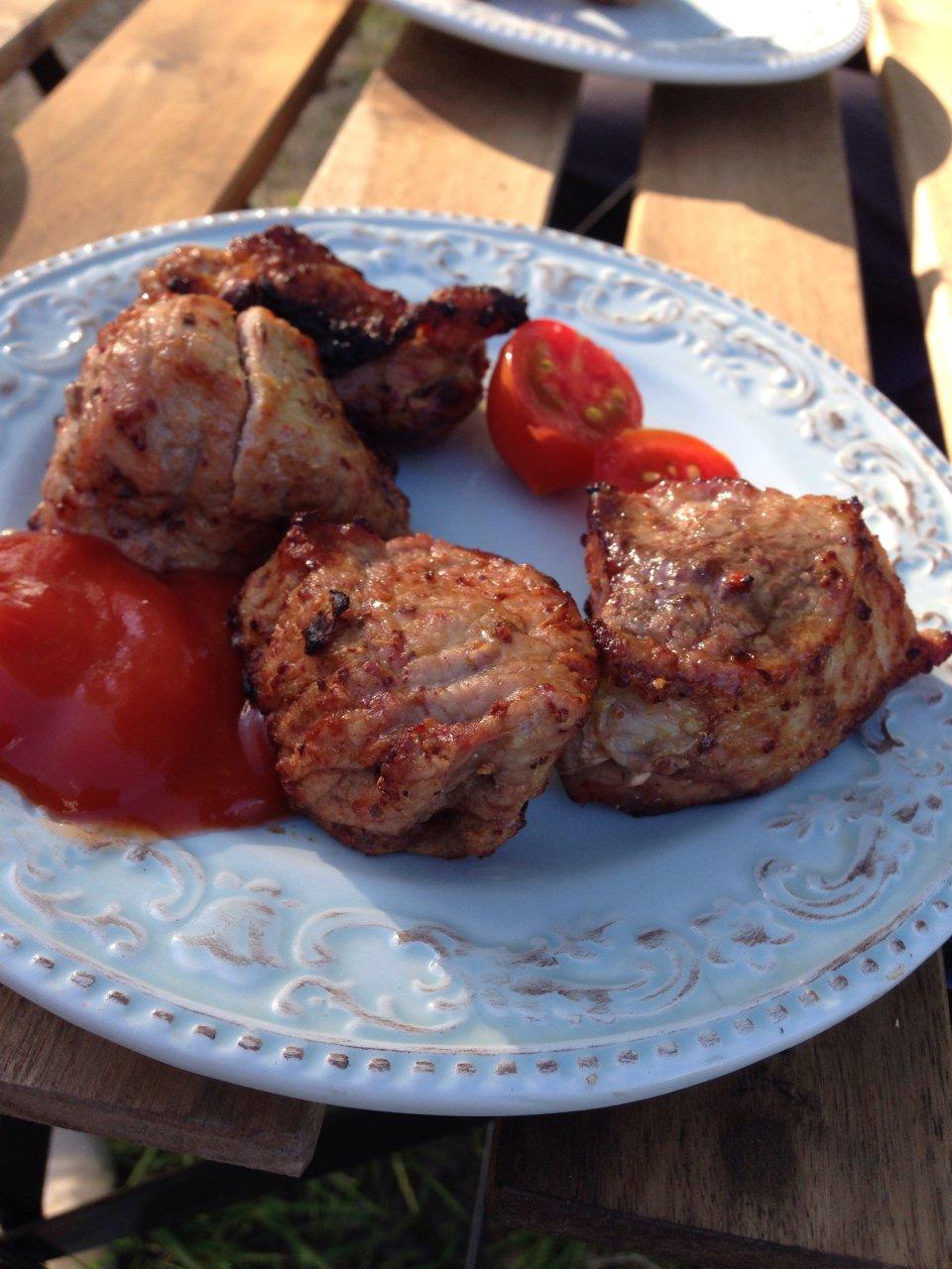 Маринад для шашлыка из свинины из киви