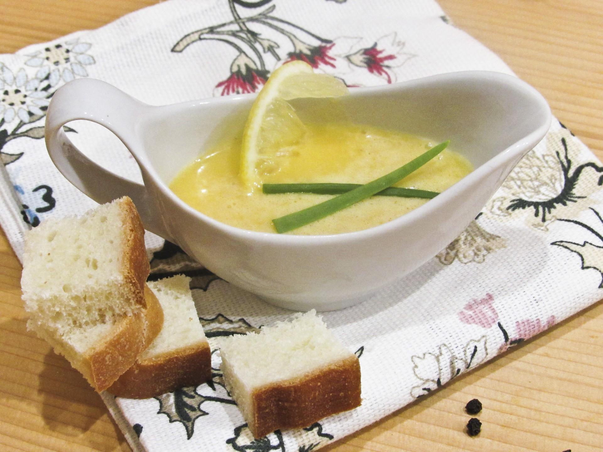 Голландский соус французской высокой кухни