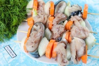 Скумбрия на мангале на решетке – 7 вкусных рецептов с фото пошагово