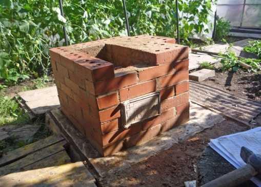 Самый простой и недорогой мангал из кирпича своими руками: фото, пошаговая инструкция и порядовка