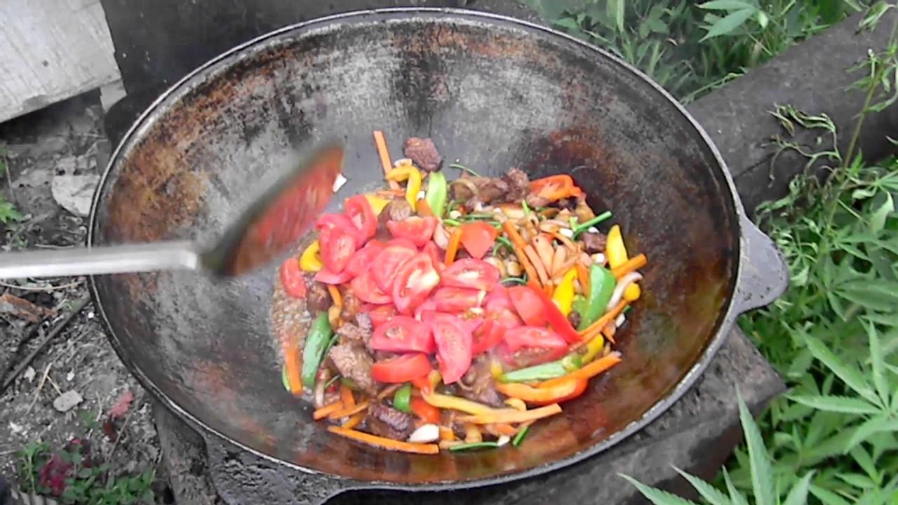 Лагман в казане: пошаговый кулинарный рецепт с фото