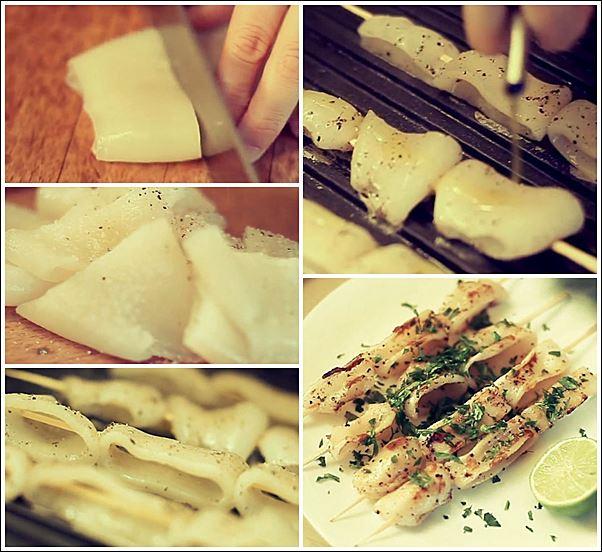 Альтернативные блюда на мангале