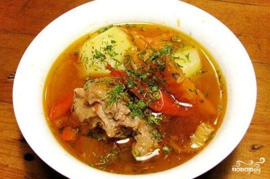 Шурпа из говядины. рецепт с фото пошагово классический, узбекская, на костре, в казане, мультиварке