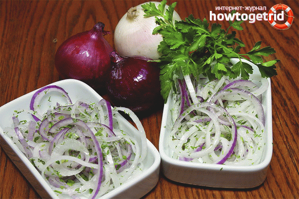 Маринованный лук к шашлыку — 8 самых вкусных рецептов