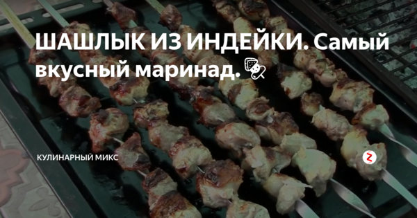 Шашлык из индейки: рецепт нежного и вкусного мяса. маринад для шашлыка