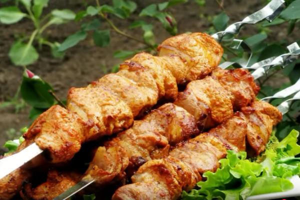 Шашлык из индейки с салом - рецепт с фотографиями - patee. рецепты